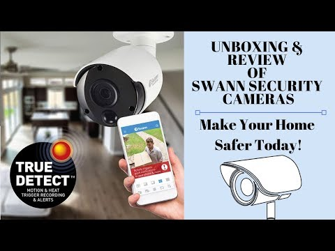 Unboxing & Review Of Swann Security Cameras