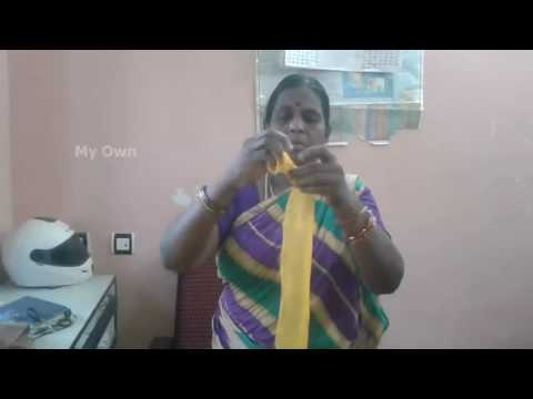 How To Use Waste Saree Cloth