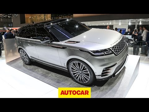 Range Rover Velar revealed | Geneva Motor Show 2017 | Autocar
