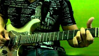 bebebe tuning lesson 05 riff from virminophobia