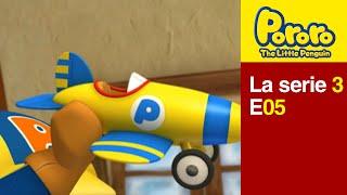[Season 3] E5 Toy plane | Kids Animation | Pororo Spanish | Pororo the Little Penguin