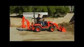Kubota BX25D Tractor Loader Backhoe Thumbnail
