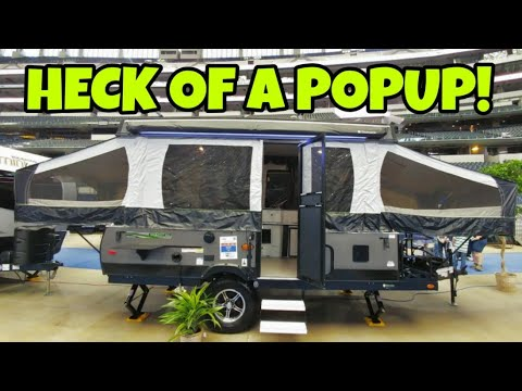 Awesome Rugged Popup Camper That Has Everything!