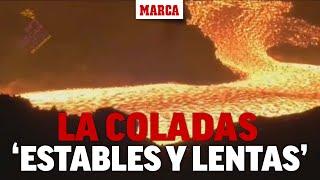 Las coladas reducen velocidad tras un mes de erupción I MARCA