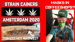 Amsterdam After Covid 19 (Is it the same?) Coffeeshop Tour 2020 Feat Doctor Denz