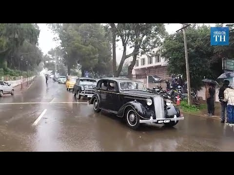 13th Vintage Car Rally In Ooty