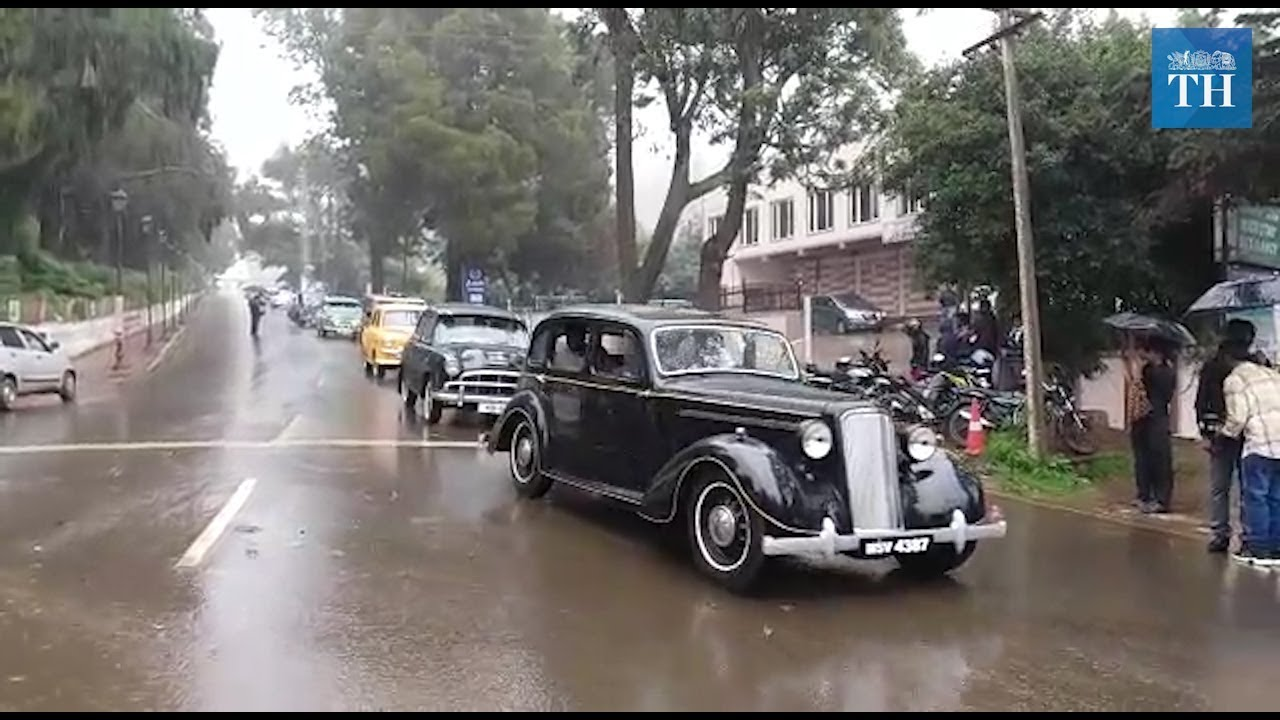 13th Vintage car rally in ooty - YouTube