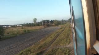 Train 668 Kovel - Lvov - Chernivtsi (поезд 668 Ковель - Львів - Чернівці )