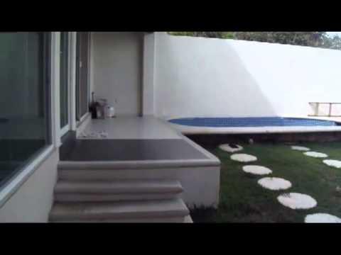 Como dise ar una casa fachada interior jardin y alberca for Fotos de casas con jardin y alberca