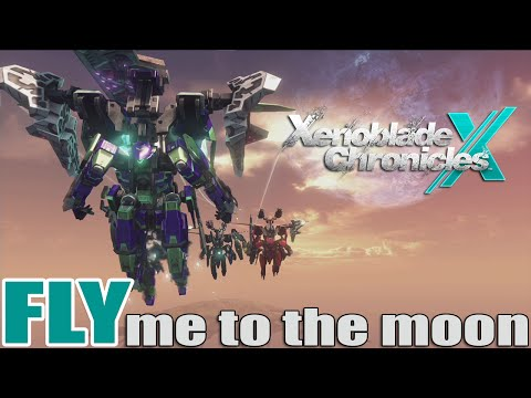 Xenoblade Chronicles X / FLY me to the moon / BEST game on WiiU