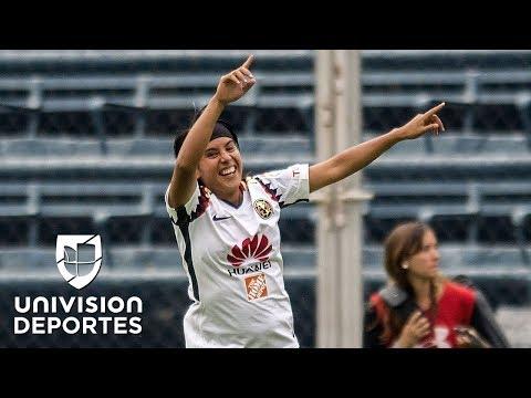 Lucero Cuevas pasó de ser carrilera a goleadora del América y de la Liga MX femenil