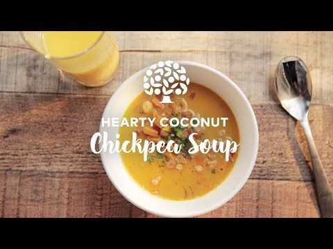 Hearty Coconut Chickpea Soup