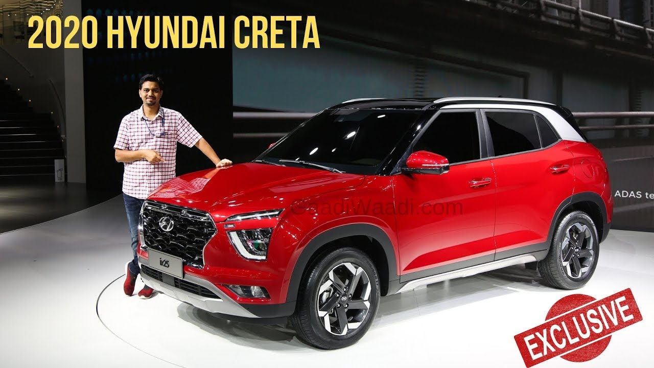 2020 Hyundai Creta Unveiled Exclusive Walkaround Youtube