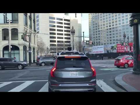 Surucusuz Araba Uber Kural Tanimadan Kafasina Gore Gidiyor
