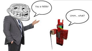 Calling Pro Roblox Players Noobs!