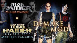 🎮 TRAoD DEMAKE MOD / Tomb Raider Heaven Lost (Maciej's Fanarts)