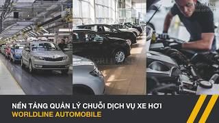 WorldLine Technology - Automotive Service Platform