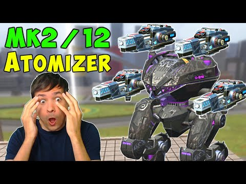 TOO POWERFUL! New Mk2 Atomizer on Live Server - War Robots Gameplay WR