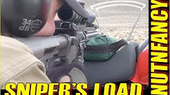 AR-15 Sniper's Load: IMI 77gr Match off Motorcycle