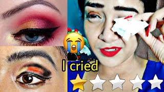I WENT TO THE WORST REVIEWED MAKEUP ARTIST IN INDIA | I CRIED