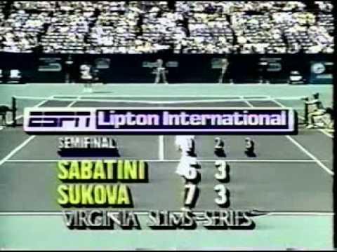 Gabriela Sabatini v Helena Sukova Key Biscayne 1989 pt3