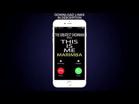 Latest iPhone Ringtone - This Is Me Marimba Remix Ringtone - The Greatest Showman