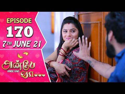Anbe Vaa Serial | Episode 170 | 7th June 2021 | Virat | Delna Davis | Saregama TV Shows Tamil