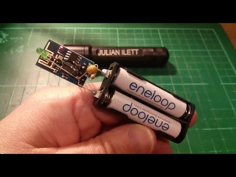 ESP8266 Hack #2: Web Enabled LED - WiFi Internet-of-Things IoT