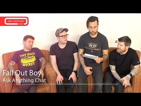 Fall Out Boy Talk About RM From BTS ***Watch What Andy Does To Pete***