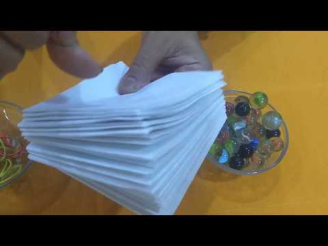 One Minute Kitty Game|Fun Game With Paper Napkin And Marbles