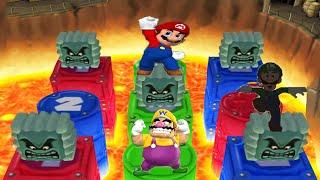 Mario Party 7 Minigames - Mario vs Waluigi vs Wario vs Luigi (Master Cpu)