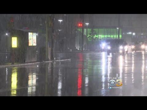 Wintry Mix Hits Philadelphia Region Leaving Roadways Slick