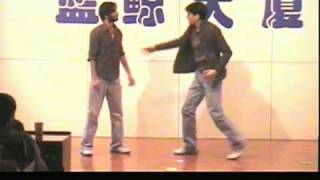 Bollywood new dance 2009 on jalwa from wanted mere naal nach, aloo chaat, g karda dance chiggy wiggy