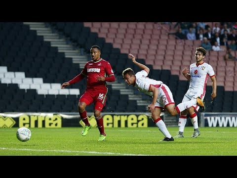 HIGHLIGHTS: MK Dons 1-4 Swansea City