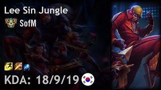 Lee Sin Jungle vs Jarvan IV - SofM - KR Challenger Patch 6.24