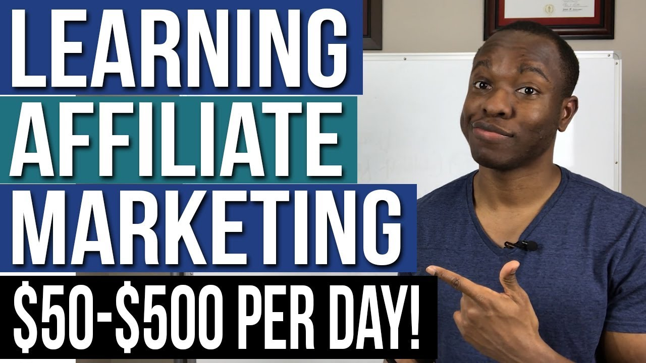 Learning Affiliate Marketing For Beginners (Step by Step Training to 50-500$ PER DAY)