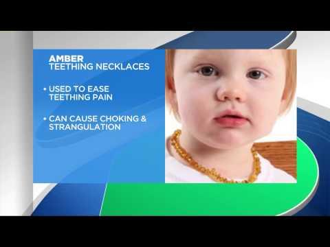 Amber Teething Necklace Dangers