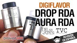 видео Digiflavor Aura RDA. Первый взгляд