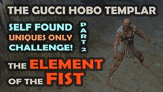 The Gucci Hobo Self Found Uniques Only Challenge Part 2: The ELEMENT of the FIST