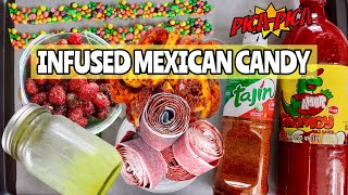 INFUSED Mexican Candy  DULCES ENCHILADOS *picapica style* + DIY Baby Lucas