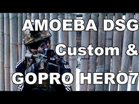 Updated Amoeba DSG custom game play!/ GOPRO HERO7 BLACK Airsoft/ 湘南トスカフィールド