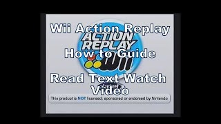 Using the Action Replay Goldeneye (Invincible Cheating Special) on the Wii