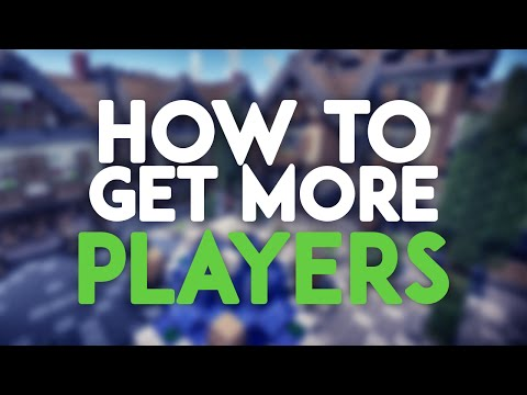 Top 5 - How to get more players! (Minecraft Servers)