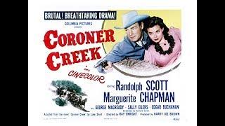 Вестерн  Коронер Крик (1948)  Randolph Scott Marguerite Chapman