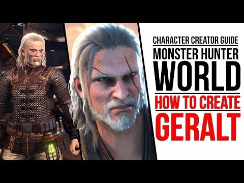 How to create the Witcher Geralt in Monster Hunter: World | Windows