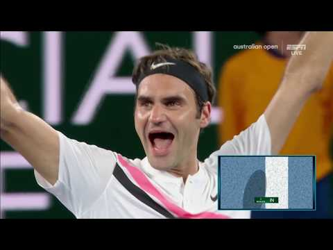 Roger Federer vs Marin Cilic Australian Open 2018 Dramatic Match Point