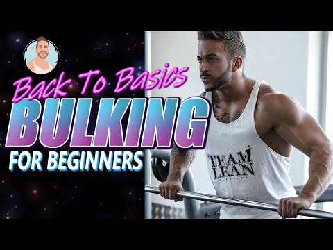 Beginners Guide To BULKING For MUSCLE GAIN