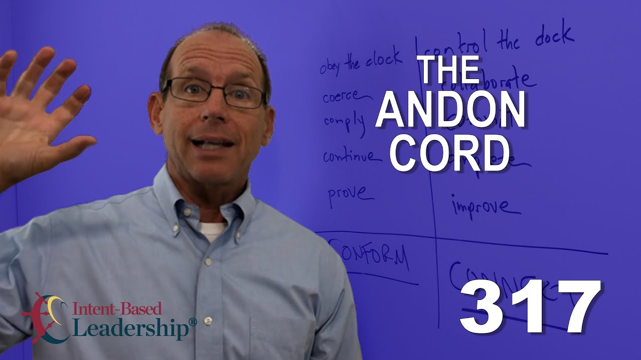 The Andon Cord - Leadership Nudge #317