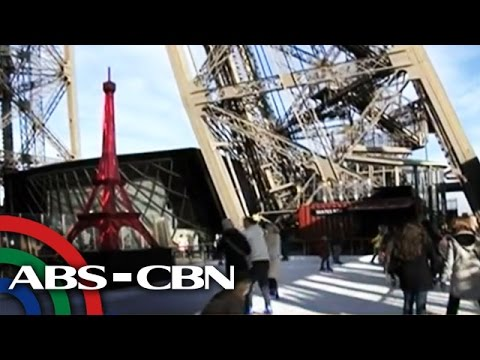New Paris attraction lets you skate on Eiffel Tower