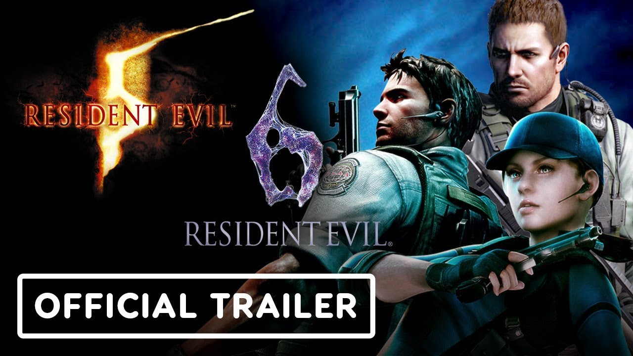 Resident Evil 5 And 6 Switch Official Announcement Trailer E3 2019 Youtube